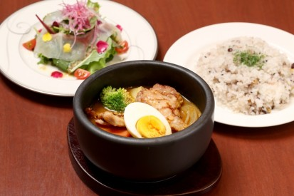 鶏スープカレー