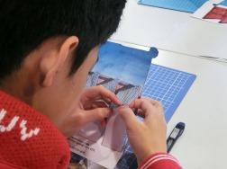 折り紙建築⑤