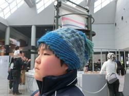 手作り帽子⑦