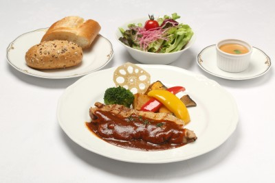 Celebratory chef's lunch