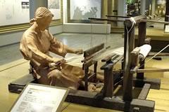 織物を織る技術