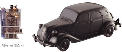 Toyoda Model AA Pull-back Toy Car